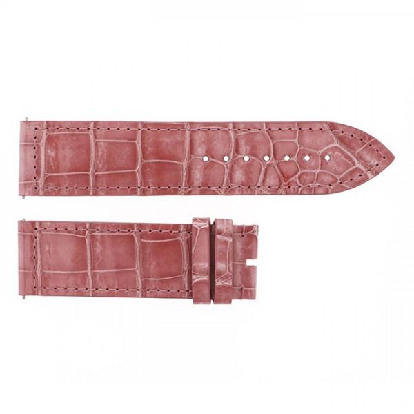 純正ストラップ STRAP フランク・ミュラー 1000/1002用 ピンククロコ艶あり 新品 腕時計替えベルト メンズ