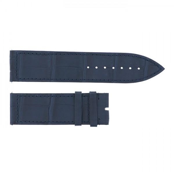純正ストラップ STRAP フランク・ミュラー 1000/1002用 ネイビークロコ 新品 腕時計替えベルト メンズ