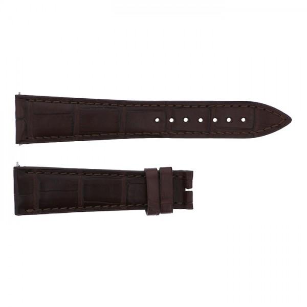 純正ストラップ STRAP フランク・ミュラー 7850用 こげ茶クロコ 艶無 新品 腕時計替えベルト メンズ