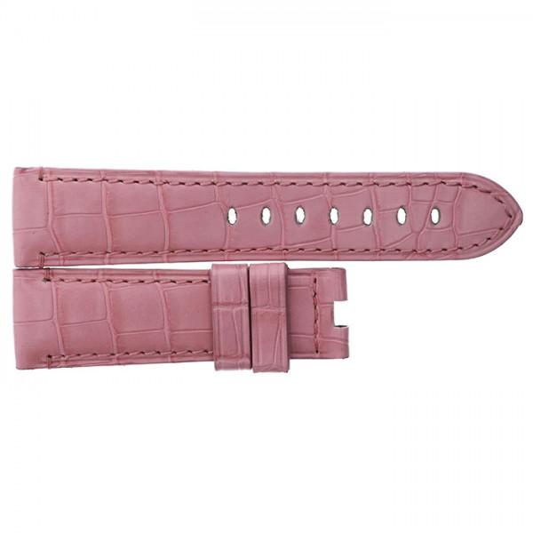 純正ストラップ STRAP パネライ 40mmDバックル用 ピンク 新品 腕時計替えベルト メンズ