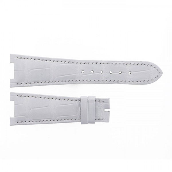 純正ストラップ STRAP パテック フィリップ ノーチラス用 白艶無 - メンズ 替えベルト 【新品】