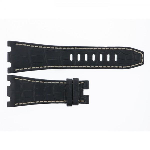 純正ストラップ STRAP オーデマ・ピゲ ロイヤルオークオフショア42.0mm用ブラッククロコ - メンズ 替えベルト 【新品】