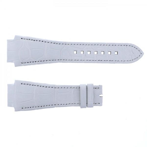 純正ストラップ STRAP ハリー・ウィンストン オーシャン 44mm用 ホワイトクロコ - メンズ 腕時計替えベルト 【新品】