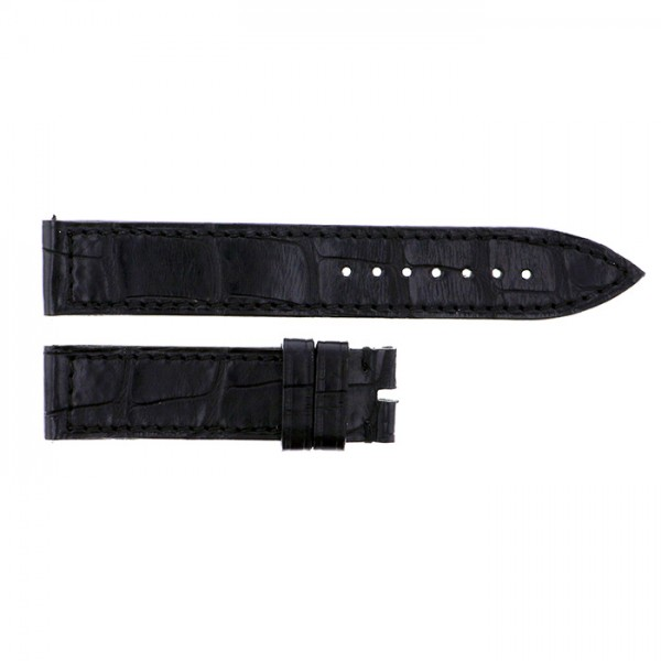 純正ストラップ STRAP フランク・ミュラー 900/902用 ブラッククロコ 新品 腕時計替えベルト レディース
