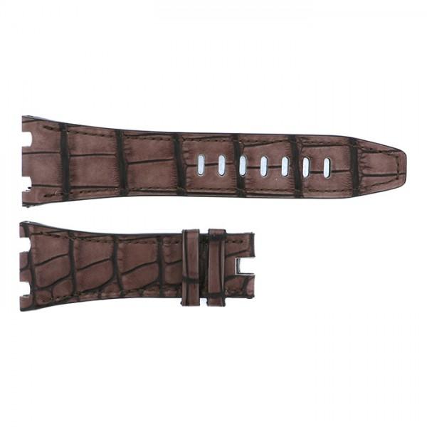 純正ストラップ STRAP オーデマ・ピゲ ブラウンクロコ 新品 腕時計替えベルト メンズ