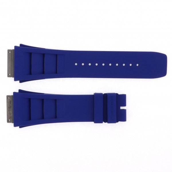 純正ストラップ STRAP リシャール・ミル RM010用 ブルー Mサイズ - メンズ 替えベルト 【新品】