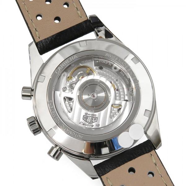 タグ・ホイヤー TAG HEUER カレラ クロノグラフ キャリバー18 テレメーター CAR221A.FC6353 シルバー/グレー文字盤 メンズ 腕時計 【新品】