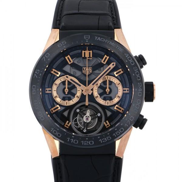 タグ・ホイヤー TAG HEUER カレラ ホイヤー02T CAR5A5U.FC6377 ブラック文字盤 メンズ 腕時計 【新品】