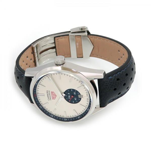 タグ・ホイヤー TAG HEUER カレラ キャリバー6 WV5111.FC6350 ホワイト文字盤 メンズ 腕時計 【新品】