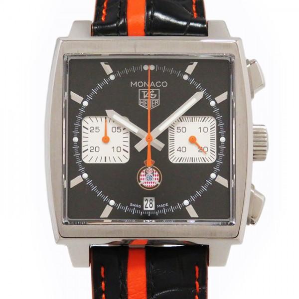 タグ・ホイヤー TAG HEUER モナコ クロノ キャリバー12 CAW211K.FC6311 ブラック文字盤 メンズ 腕時計 【新品】