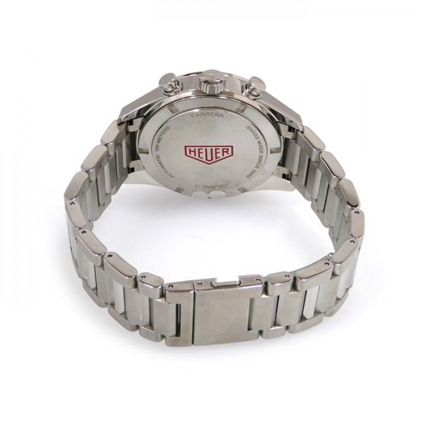 タグ・ホイヤー TAG HEUER カレラ クロノグラフ キャリバー17 CV211D.BA0739 ブラック文字盤 メンズ 腕時計 【新品】