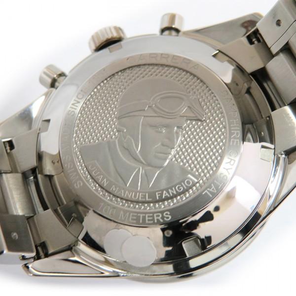 タグ・ホイヤー TAG HEUER カレラ クロノグラフ CV201AH.BA0725 ブラック文字盤 メンズ 腕時計 【新品】