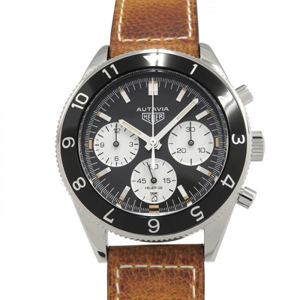 タグ・ホイヤー TAG HEUER その他 オータビア ヘリテージ キャリバー02 クロノグラフ CBE2110.FC8226 ブラック/ホワイト文字盤 メンズ 腕時計 【新品】