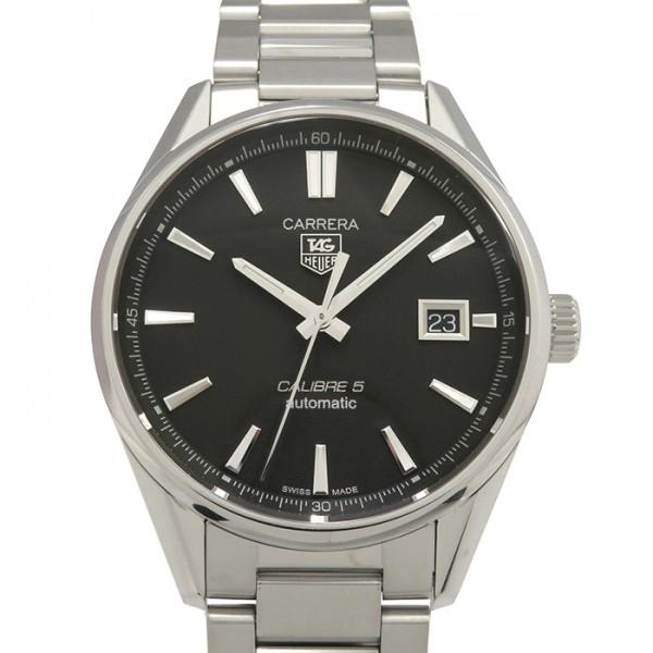 タグ・ホイヤー TAG HEUER カレラ キャリバー5 WAR211A.BA0782 ブラック文字盤 メンズ 腕時計 【新品】