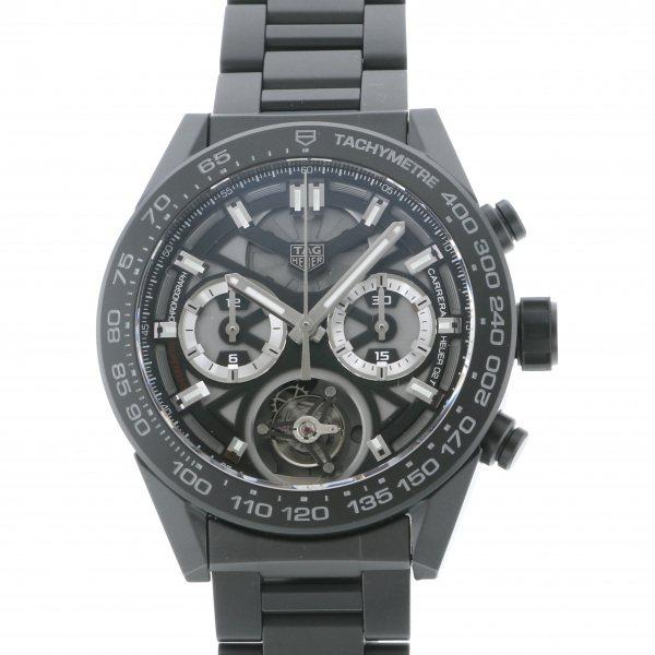 タグ・ホイヤー TAG HEUER カレラ キャリバー ホイヤー02T CAR5A90.BH0742 ブラック文字盤 メンズ 腕時計 【新品】