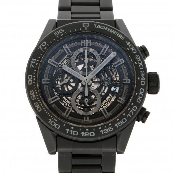 タグ・ホイヤー TAG HEUER カレラ キャリバー ホイヤー01 CAR2A91.BH0742 ブラック文字盤 メンズ 腕時計 【中古】