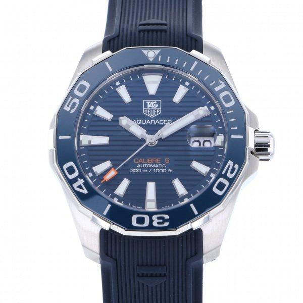 タグ・ホイヤー TAG HEUER アクアレーサー キャリバー5 WAY211C.FT6155 ブルー文字盤 メンズ 腕時計 【新品】