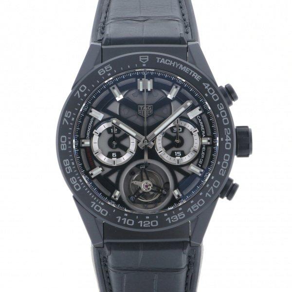 【期間限定ポイント5倍 5/5~5/31】 タグ・ホイヤー TAG HEUER カレラ キャリバー ホイヤー 02T CAR5A90.FT6121 ブラック文字盤 メンズ 腕時計 【新品】