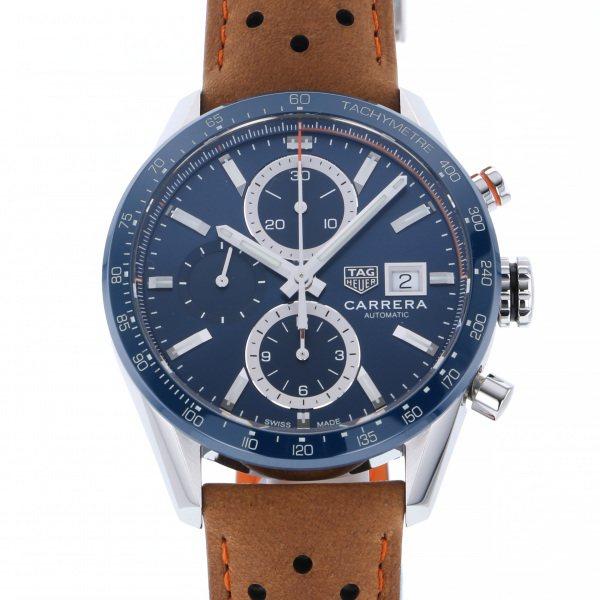タグ・ホイヤー TAG HEUER カレラ キャリバー16 CBM2112.FC6455 ブルー文字盤 メンズ 腕時計 【新品】