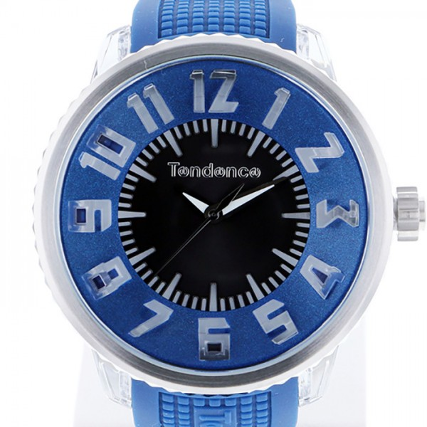テンデンス TENDENCE その他 FLASH フラッシュ TG530002 ブラック/ブルー文字盤 メンズ 腕時計 【新品】
