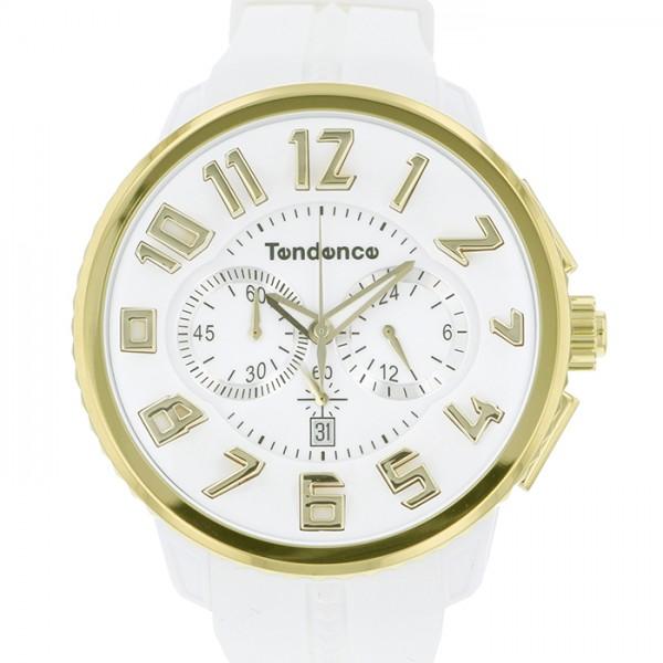 テンデンス TENDENCE その他 ガリバー TY046019 ホワイト文字盤 メンズ 腕時計 【新品】