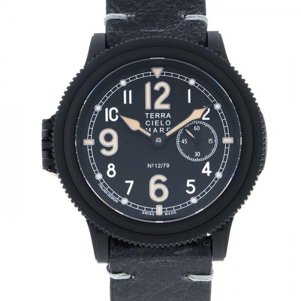 テッラ チエロ マーレ TERRA CIELO MARE その他 イル ソルチ ヴェルディ 世界限定79本 TC7010ISV3PA ブラック文字盤 メンズ 腕時計 【新品】