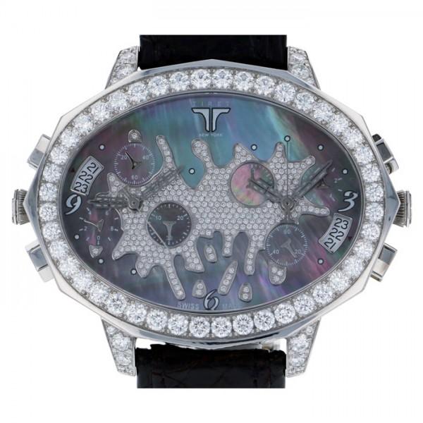 ティレット ニューヨーク TIRET NEW YORK その他 セカンドチャンス TN10039 ブラック文字盤 メンズ 腕時計 【中古】