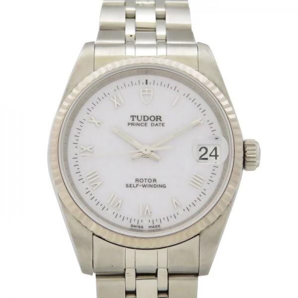 チュードル TUDOR その他 プリンス オイスター デイト 72034 ホワイト文字盤 メンズ 腕時計 【中古】