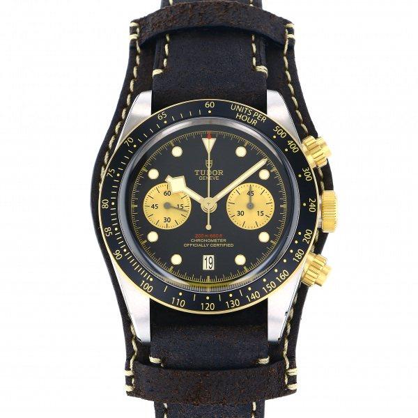 チューダー(チュードル) TUDOR その他 ヘリテージ ブラックベイ クロノ S&G 79363N-0002 ブラック/ゴールド文字盤 メンズ 腕時計 【新品】