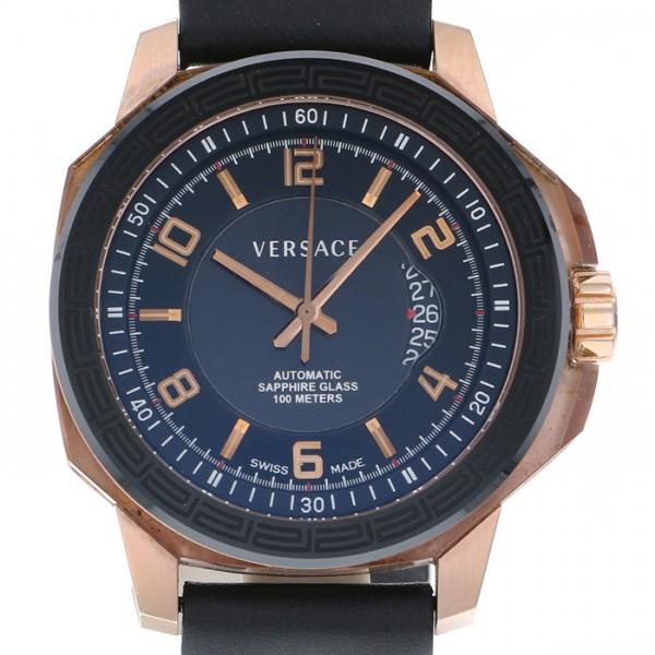 ベルサーチ VERSACE その他 ダイバーシティ デイト 19A70 ブラック文字盤 メンズ 腕時計 【中古】