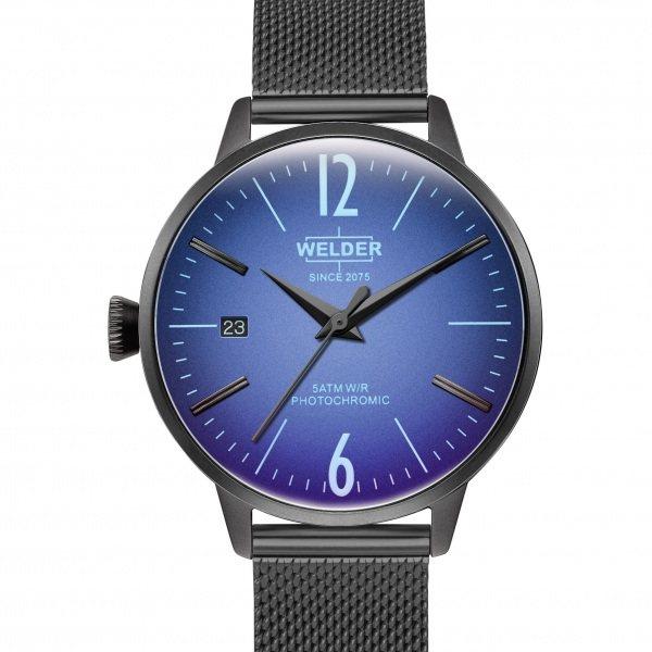 ウェルダー WELDER その他 MOODY 3HANDS 36mm WRC718 ブルー文字盤 メンズ 腕時計 【新品】