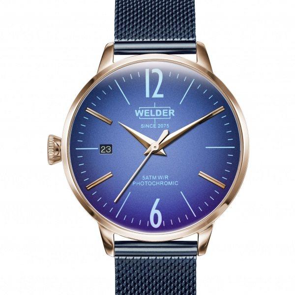 【期間限定ポイント5倍 5/5~5/31】 ウェルダー WELDER その他 MOODY 3HANDS 36mm WRC725 ブルー文字盤 メンズ 腕時計 【新品】