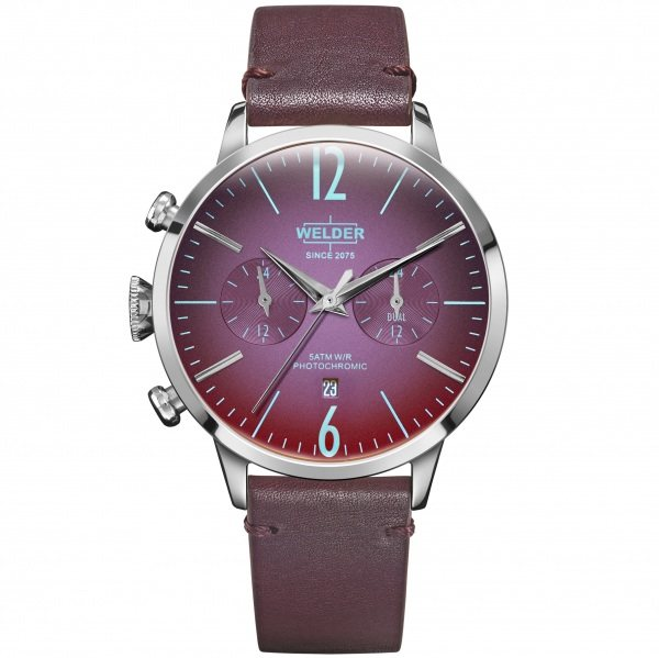 【期間限定ポイント5倍 5/5~5/31】 ウェルダー WELDER その他 ムーディ WWRC206 ボルドー文字盤 メンズ 腕時計 【新品】