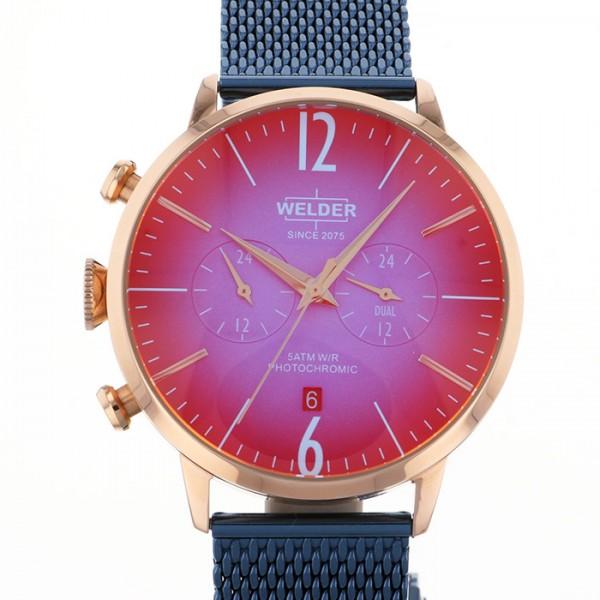 ウェルダー WELDER その他 MOODY DUAL TIME 45MM WWRC418 ピンク文字盤 メンズ 腕時計 【新品】