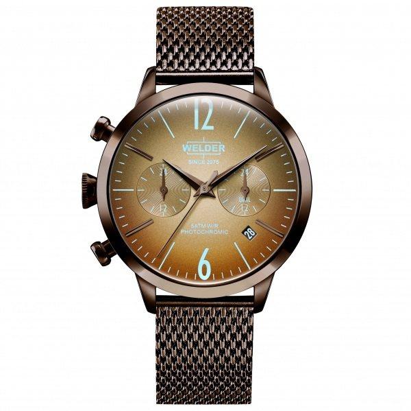 ウェルダー WELDER その他 ムーディ WWRC606 ブラウン文字盤 メンズ 腕時計 【新品】