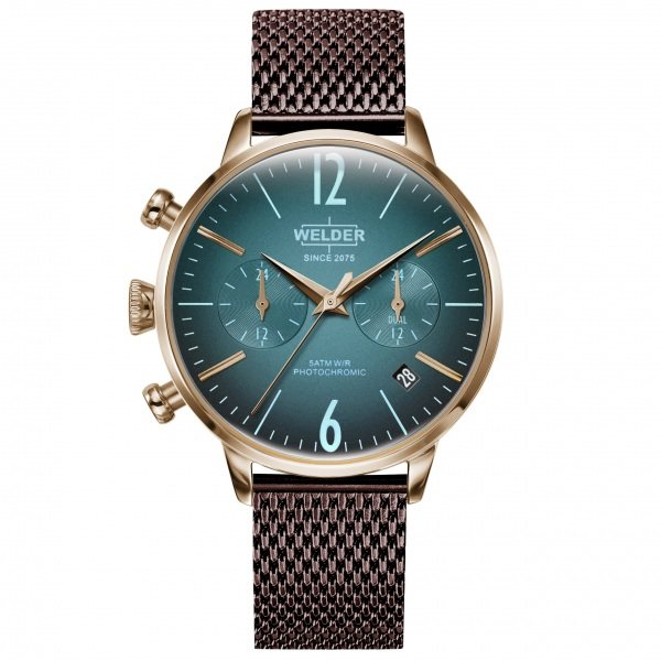 【全品 ポイント10倍 4/9~4/16】ウェルダー WELDER その他 ムーディ WWRC610 グリーン文字盤 メンズ 腕時計 【新品】