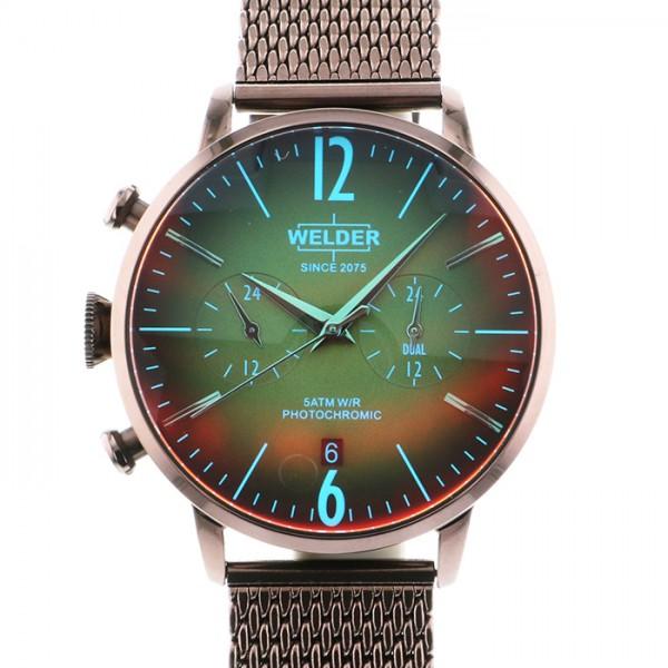 ウェルダー WELDER その他 MOODY DUAL TIME 42MM WWRC804 ブラウン文字盤 メンズ 腕時計 【新品】