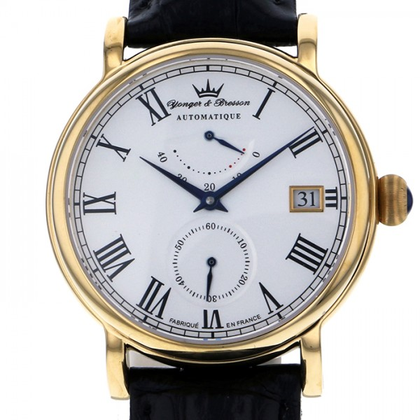 【期間限定ポイント5倍 5/5~5/31】 ヨンガー&ブレッソン YONGER&BRESSON その他 シャンボール YBH8356-03 ホワイト文字盤 メンズ 腕時計 【新品】