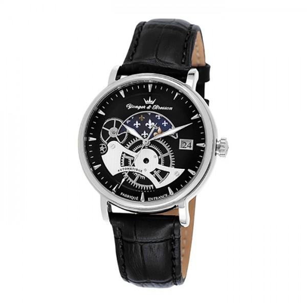 ヨンガー&ブレッソン YONGER&BRESSON その他 セルニー YBH8544-01 ブラック文字盤 メンズ 腕時計 【新品】