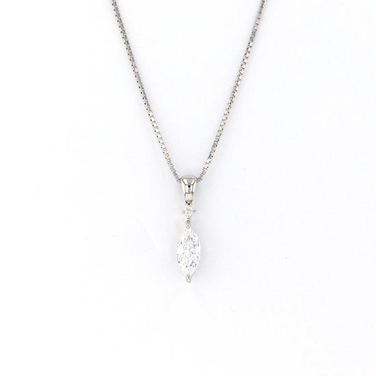 PT プラチナ ダイヤモンド ネックレス/ペンダント