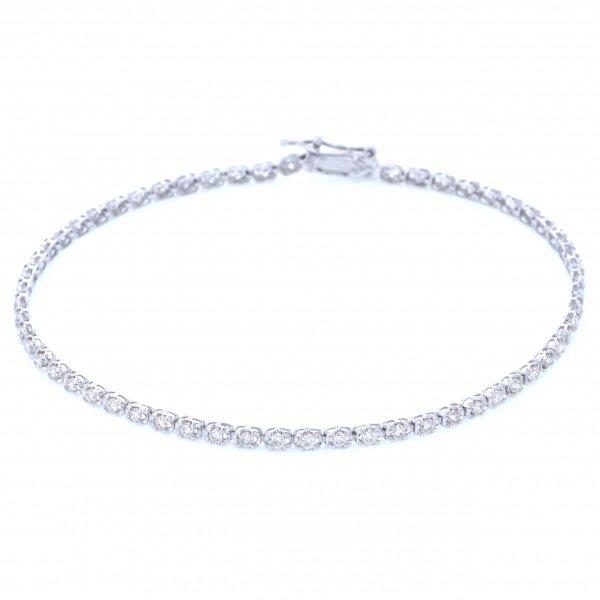 【50%OFF】 PT プラチナ ダイヤモンド ブレスレット, 仏壇仏具のふたきや 60496630