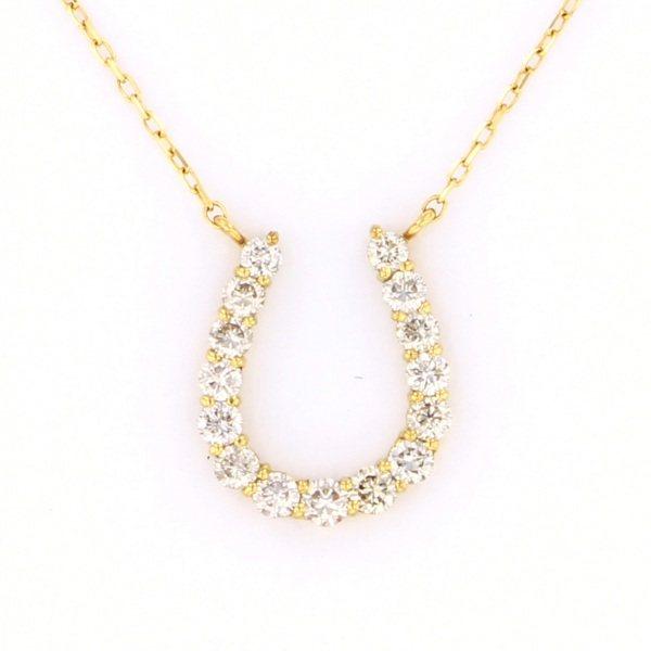 K18YG イエローゴールド ダイヤモンド ブレスレット ネックレス