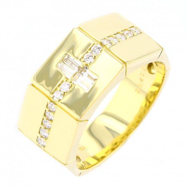 激安商品 K18YG イエローゴールド ダイヤモンド リング, ホングウチョウ 99df505a