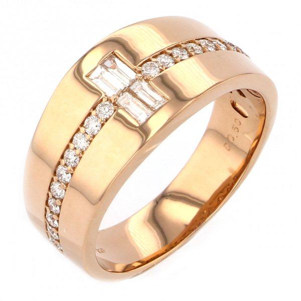 【破格値下げ】 K18PG K18PG リング ピンクゴールド ピンクゴールド ダイヤモンド リング, KupuKupu:97c320d3 --- heathtax.com