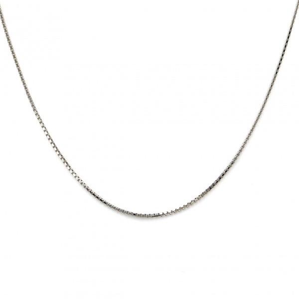 K18WG ホワイトゴールド 商い 公式 ペンダント ネックレス
