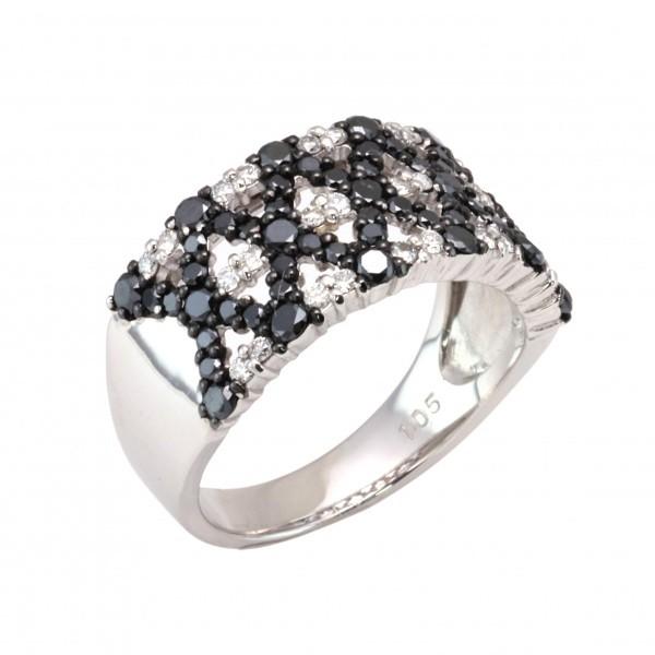 100%本物 【期間限定ポイント3倍 4/23~4/28】 K18WG ホワイトゴールド ブラックダイヤ リング ダイヤモンド ダイヤモンド ブラックダイヤ リング, 激安ブランド:690d679e --- themezbazar.com