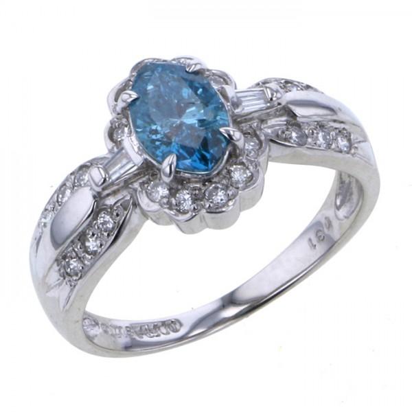 最安値級価格 K18WG ホワイトゴールド ダイヤモンド リング, COZY dde1c3a2
