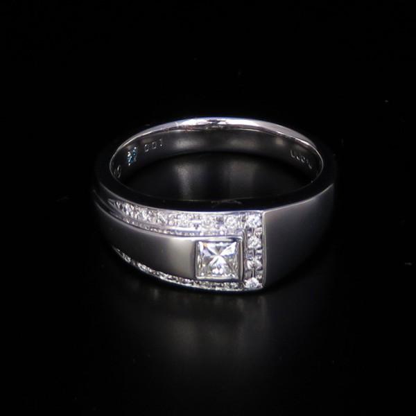ユキザキセレクトジュエリー YUKIZAKI SELECT JEWELRY リング プラチナ900 ダイヤモンドリング メンズ ジュエリー 【新品】