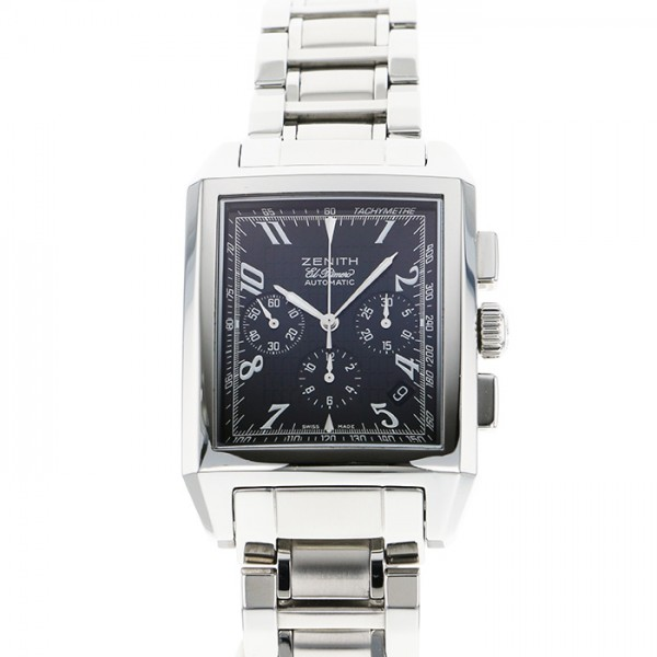 ゼニス ZENITH その他 グランドポートロワイヤル 03.0550.400 ブラック文字盤 メンズ 腕時計 【中古】