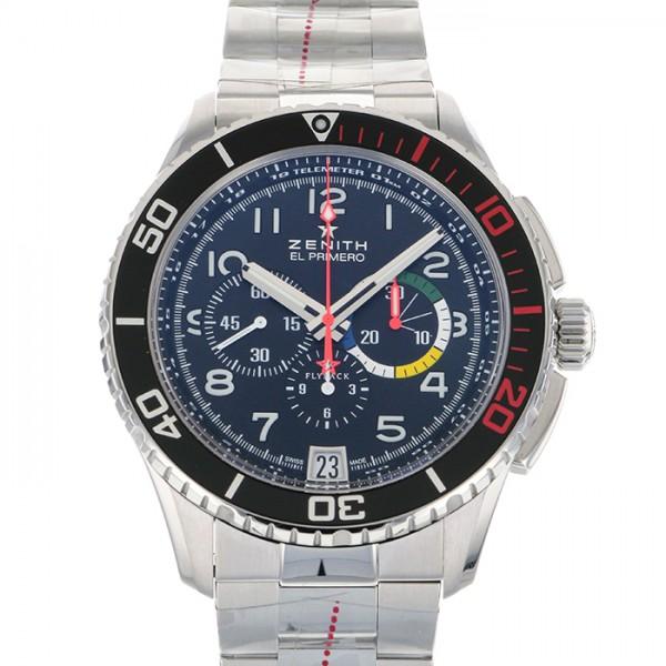 ゼニス ZENITH その他 パイロット ストラトス・フライバック・レインボー 03.2061.405/21.M2060 ブラック文字盤 メンズ 腕時計 【未使用】